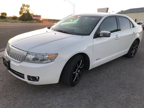 2008 Lincoln MKZ for sale at BELOW BOOK AUTO SALES in Idaho Falls ID