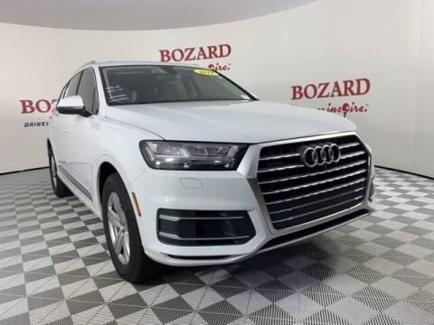 2019 Audi Q7 for sale at BOZARD FORD in Saint Augustine FL
