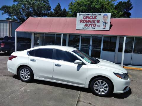 2016 Nissan Altima for sale at Uncle Ronnie's Auto LLC in Houma LA