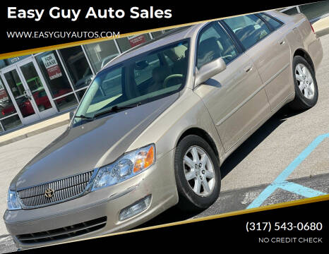 2001 Toyota Avalon for sale at Easy Guy Auto Sales in Indianapolis IN