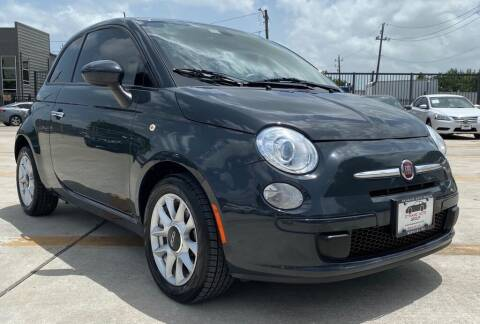 2016 FIAT 500 for sale at DYNAMIC AUTO GROUP in Houston TX
