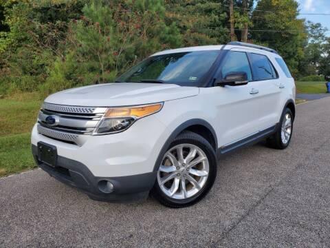 2015 Ford Explorer for sale at TM AUTO WHOLESALERS LLC in Chesapeake VA
