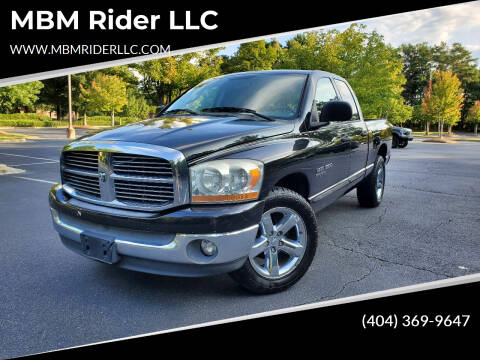 2006 Dodge Ram Pickup 1500 for sale at MBM Rider LLC in Alpharetta GA