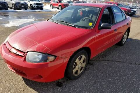 2003 Chevrolet Cavalier for sale at Cannon Falls Auto Sales in Cannon Falls MN