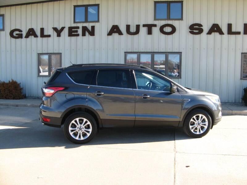 2018 Ford Escape for sale at Galyen Auto Sales in Atkinson NE