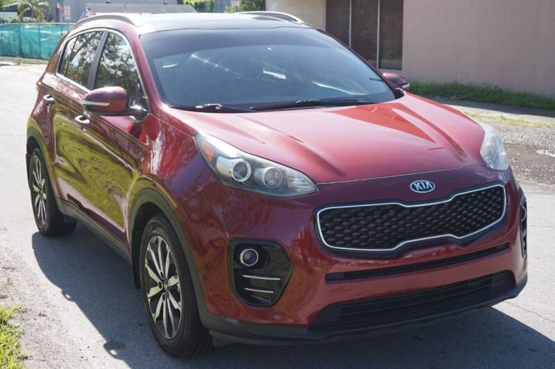 2017 Kia Sportage for sale at SUPER DEAL MOTORS in Hollywood FL