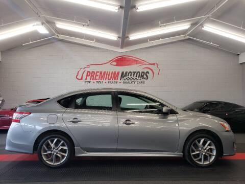 2014 Nissan Sentra for sale at Premium Motors in Villa Park IL