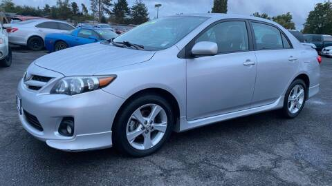 2012 Toyota Corolla for sale at Universal Auto Inc in Salem OR