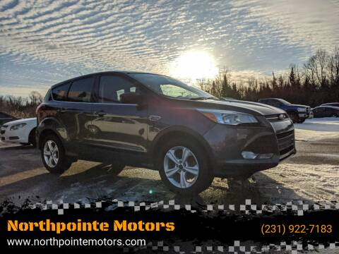 2016 Ford Escape for sale at Northpointe Motors in Kalkaska MI