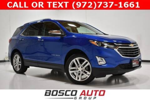 2019 Chevrolet Equinox for sale at Bosco Auto Group in Flower Mound TX