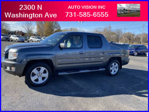 2011 Honda Ridgeline for sale at Auto Vision Inc. in Brownsville TN
