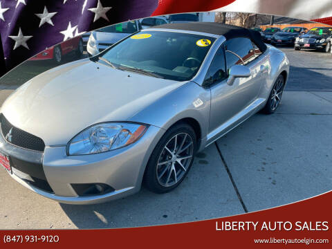 2012 Mitsubishi Eclipse Spyder for sale at Liberty Auto Sales in Elgin IL