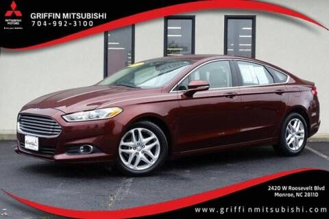 2016 Ford Fusion for sale at Griffin Mitsubishi in Monroe NC
