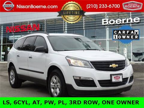 2016 Chevrolet Traverse for sale at Nissan of Boerne in Boerne TX