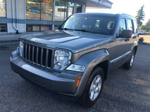 2012 Jeep Liberty for sale at KARMA AUTO SALES in Federal Way WA