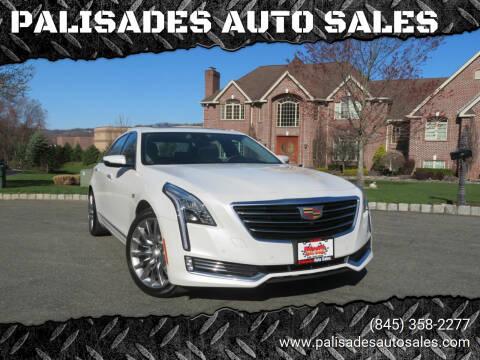 2017 Cadillac CT6 for sale at PALISADES AUTO SALES in Nyack NY