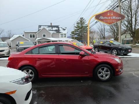 2011 Chevrolet Cruze for sale at Shattuck Motors in Newport VT