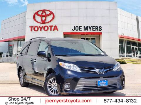 2019 Toyota Sienna for sale at Joe Myers Toyota PreOwned in Houston TX