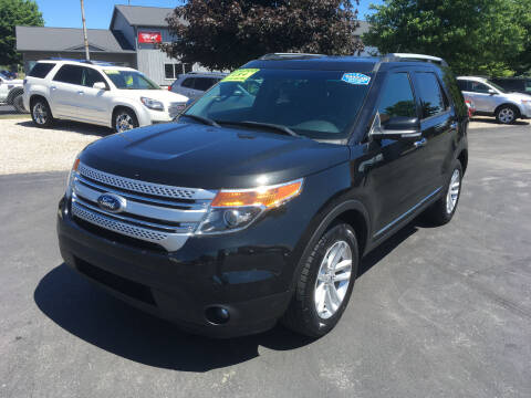 2014 Ford Explorer for sale at JACK'S AUTO SALES in Traverse City MI