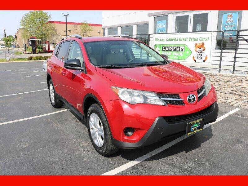 2013 Toyota RAV4 for sale at AUTO POINT USED CARS in Rosedale MD