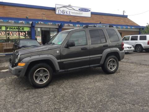2005 Jeep Liberty for sale at Duke Automotive Group in Cincinnati OH