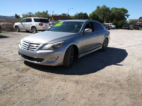 2012 Hyundai Genesis for sale at Canyon View Auto Sales in Cedar City UT
