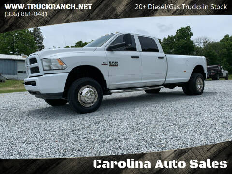 2013 RAM Ram Pickup 3500 for sale at Carolina Auto Sales in Trinity NC
