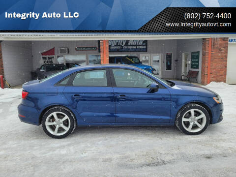 2015 Audi A3 for sale at Integrity Auto LLC - Integrity Auto 2.0 in St. Albans VT