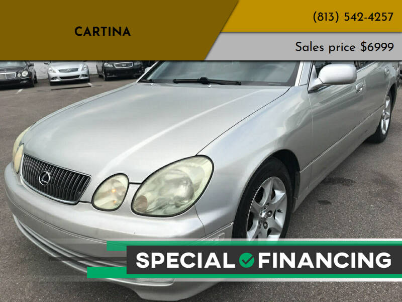 2001 Lexus GS 300 for sale at Cartina in Tampa FL