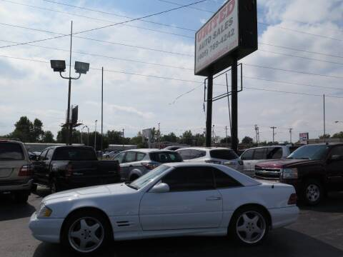 2002 Mercedes-Benz SL-Class for sale at United Auto Sales in Oklahoma City OK