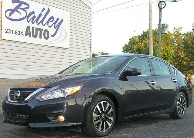 2018 Nissan Altima for sale at Bailey Auto LLC in Bailey MI