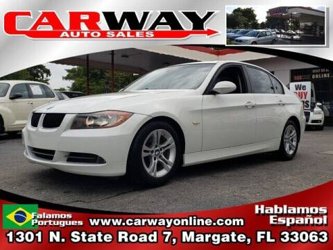 2008 BMW 3 Series for sale at CARWAY Auto Sales in Margate FL