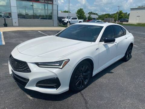 2021 Acura TLX for sale at Davco Auto in Fort Wayne IN