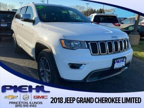 2018 Jeep Grand Cherokee for sale at Piehl Motors - PIEHL Chevrolet Buick Cadillac in Princeton IL