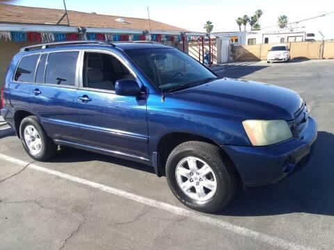 2002 Toyota Highlander for sale at Car Spot in Las Vegas NV