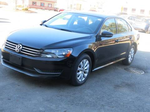 2012 Volkswagen Passat for sale at United Auto Service in Leominster MA