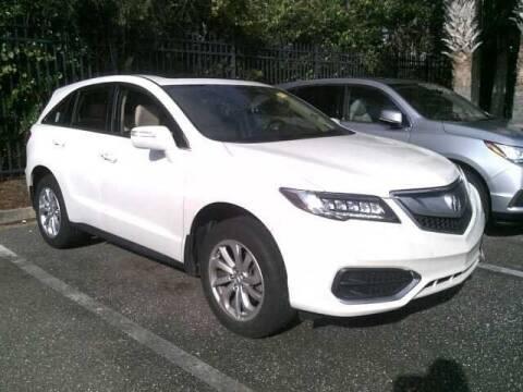 2018 Acura RDX for sale at JOE BULLARD USED CARS in Mobile AL