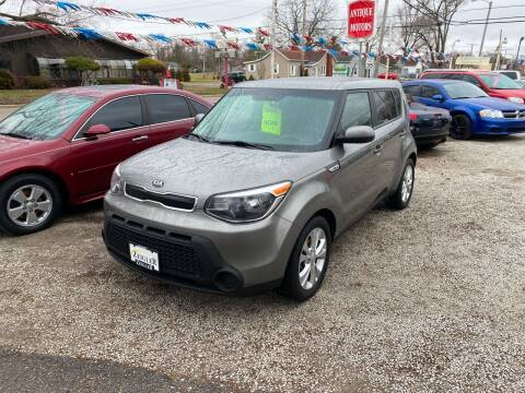 2015 Kia Soul for sale at Antique Motors in Plymouth IN