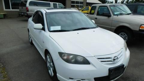 2005 Mazda MAZDA3 for sale at M & M Auto Sales LLc in Olympia WA