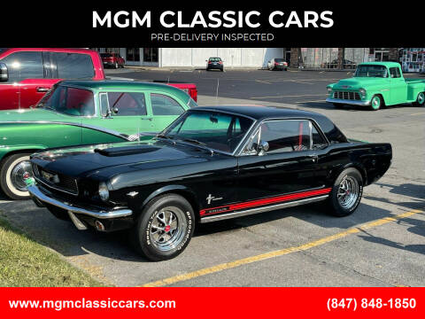 1966 Ford Mustang for sale at MGM CLASSIC CARS-New Arrivals in Addison IL