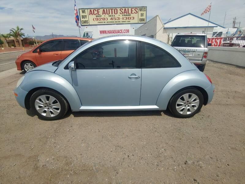 2010 Volkswagen New Beetle for sale at ACE AUTO SALES in Lake Havasu City AZ