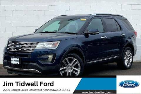 2016 Ford Explorer for sale at CU Carfinders in Norcross GA