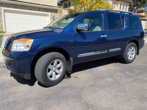 2010 Nissan Armada for sale at CALIFORNIA AUTO GROUP in San Diego CA