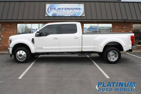 2018 Ford F-450 Super Duty for sale at Platinum Auto World in Fredericksburg VA