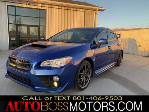 2017 Subaru WRX for sale at Auto Boss in Woodscross UT