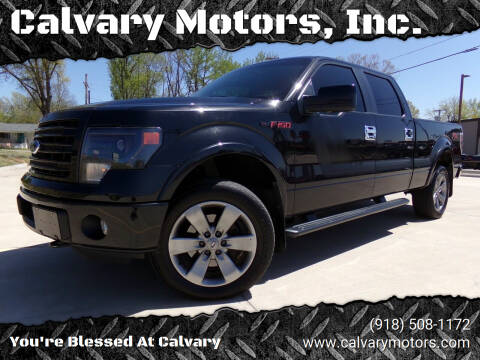 2014 Ford F-150 for sale at Calvary Motors, Inc. in Bixby OK