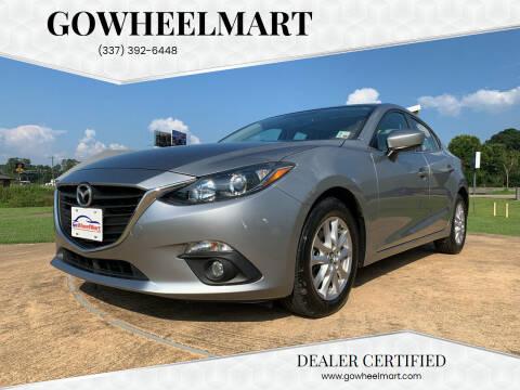 2016 Mazda MAZDA3 for sale at GOWHEELMART in Leesville LA