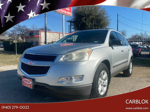 2011 Chevrolet Traverse for sale at CARBLOK in Lewisville TX