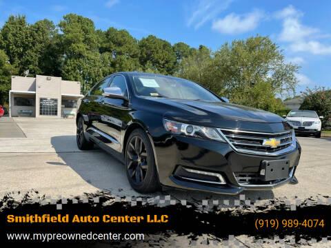 2017 Chevrolet Impala for sale at Smithfield Auto Center LLC in Smithfield NC