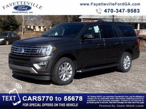 2021 Ford Expedition MAX for sale at FAYETTEVILLEFORDFLEETSALES.COM in Fayetteville GA